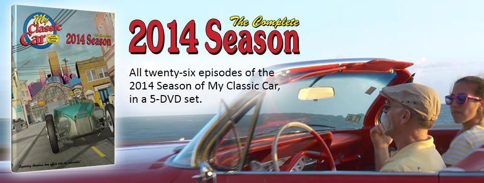 My Classic Car 2014 Season DVD