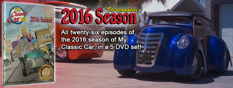 My Classic Car 2015 Season DVD