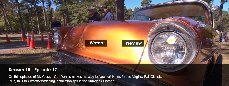 Virginia Fall Classic, Weatherstripping Installation Tips (Steele Rubber)