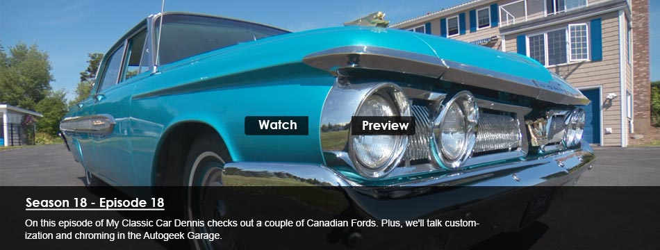 Full Size Canadian Fords, Customization and Chroming (Paul's Chrome)